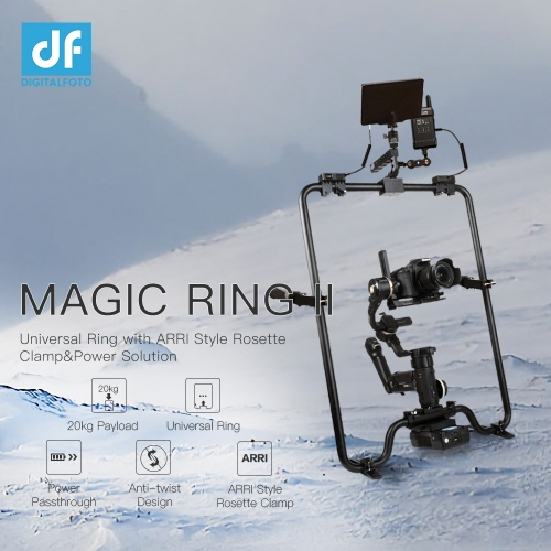DIGITALFOTO Magic RING II for ZHIYUN Crane 3S/2S DJI Ronin S/SC/S2/SC Moza